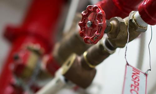 fire sprinkler inspection, testing, maintenance